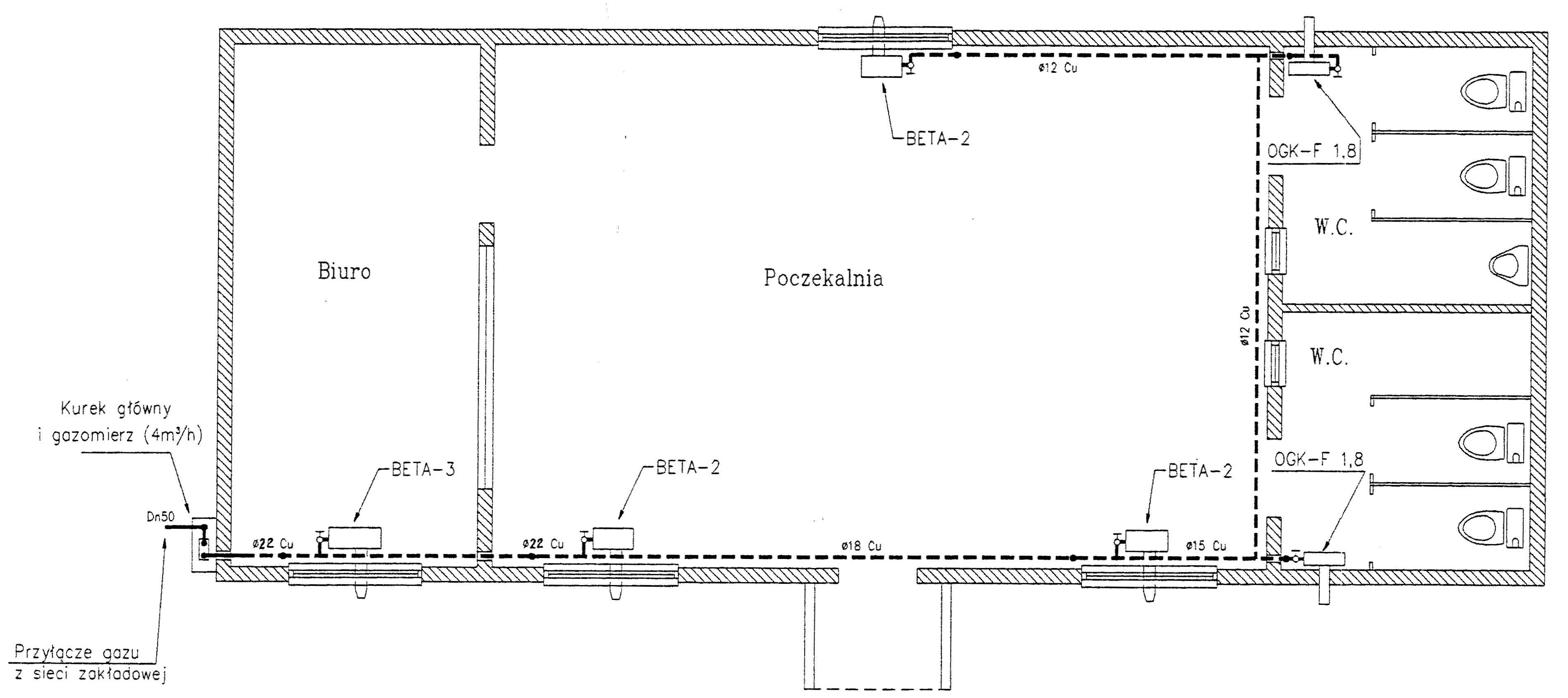 R4 Gliwice - plan budynku kontenerowego